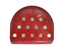 Vintage Skee Skill Ball Red Metal Game
