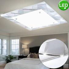 Deckenlampe LED modern dimmbar Chrom 82x65 cm Lampen für Wohnzimmer Esszimmer