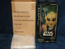 Star Wars 2006 Sideshow Collectibles 1/6 Scale Kit Fisto Exclusive Edition