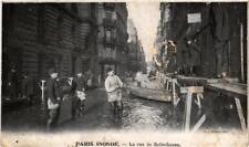 CPA PARIS INONDE La rue de Bellechasse (562098)