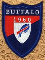 """New Old Stock Buffalo Bills 1960 Patch  Established Patch NFL    2-7/8"""" x 4"""""""