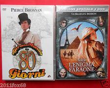 dvd il giro del mondo in 80 giorni pierce brosnan adele e l'enigma del faraone