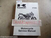 2005 2006 KAWASAKI Z750S Service Manual OEM
