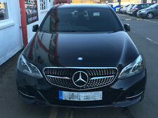 Mercedes W212 E Class Sport Diamond Style grill grille Black 2013 Models onwards