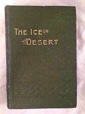Jules Verne - The Ice Desert - Richard Butterworth - 1920s, Original Green Cloth