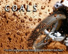 Motocross Motorcycle Racing Motivational Poster Print Youth Jersey Gear MVP715