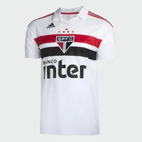 Sao Paulo Home Soccer Football Jersey Shirt - 2018 2019 Adidas Brazil