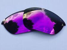 Espejo Grabado Polarizado Púrpura De Repuesto Lentes JACKET 2.0 OAKLEY HALF