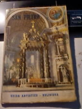 LIBRO SAN PIETRO GUIDA ARTISTICO RELIGIOSA L. GIUNTA IV EDIZ.  1954