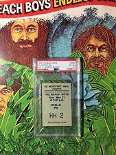 1977 Beach Boys Concert Ticket Leicester England Brian Wilson PSA