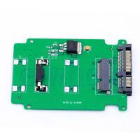 """5cm mSATA SSD Mini PCI-E To 2.5"""" 7+15 22pin SATA Karten adapter&PCB 9.8X6.5CM FA"""