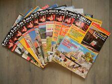 Les 11 Numéros Loco Revue Année 1999 Complète du N° 621 au 631