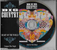 BIG COUNTRY - HEART OF THE WORLD [CD SINGLE, 1990 PHONOGRAM, 3 TRACKS]