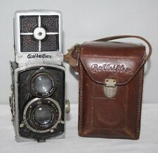 4x4 Baby Rolleiflex Model 4RF 414 - 1933 TLR Camera - Case/Working