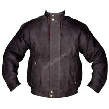 Bomber Jacket Leather Flight Jacket Fashion Biker Rider Winter Pilot Jacket