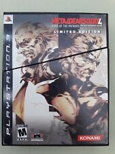 Metalgearsolid 4 Gun Of The Patriots Edicion Limitada PS-3