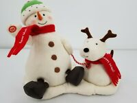 Hallmark Jingle Pals 2004 Musical Animated Snowman and Dog - For Parts Only