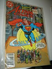 DC Comics Action Comics 583 Alan Moore & Superman 2,3 Batman app 9.2+ NM+ Lot