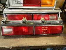 1978-1980 Buick Regal COUPE/2-Door Luce posteriore/fanale retrovisore/taillight, COPPIA M. BEZELS