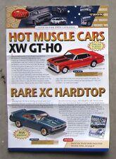 TRAX CATALOGUE 2004 Brochure DieCast 1/43 FALCON XW GTHO XC MONARO HK 327 TORANA