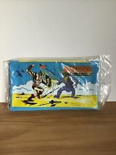 Vintage 1983 He-Man Masters Of The Universe Pencil Holder Pouch Zip Bag