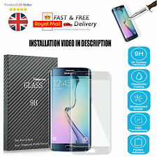 New Full Curved 3D Tempered Glass Screen Protector For Samsung Galaxy S7 EDGE
