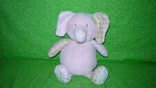 CoCalo Baby Pink Elephant Plush Bank Infant Savings Shower Gift Nursery Decor