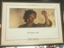 Lord of the Rings Return of the King Masterworks Lithograph 813/1000 Frame Print