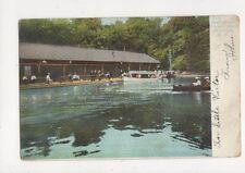 Boat House Prospect Park Brooklyn NY 1907 Postcard USA Blaker Ballater619a