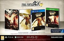 Xbox One juego Final Fantasy Type - 0 HD Limited Steelbook Edition mercancía nueva