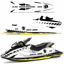 Decal Graphic Wrap Kit Jet Ski Jetski Bombardier Parts Sea-Doo GSX 1996-1999 WRK