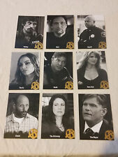 Sons of Anarchy Season 4 & 5  Insert Card Set of 9 #C12-C20