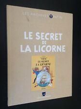 Archives Hergé Tintin Secret de la Licorne BON ETAT