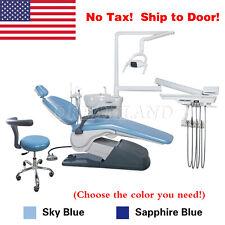 Usa Dental Chair Unit 110v Hard Leather Dc Motor Usa Warehouse Free Shipping