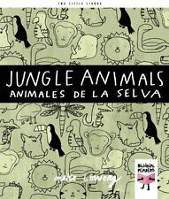 Jungle Animals Animales de la selva (Two Little Libros) (English and Spanish Edi