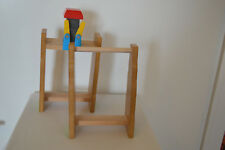 2 Thomas & Friends Wooden Railway Start Your Engines Race Set Risers Wooden