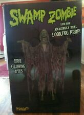 Spirit Halloween 2008 Swamp Zombie w/ Original Box Ultra Rare Discontinued