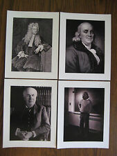 Back to the Future - Doc Brown's - Inventor Photograph's Prop Prints [Set of 4]