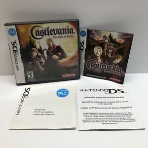 Nintendo DS Castlevania: Portrait of Ruin (CASE & INSERTS ONLY/ NO GAME)