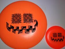 New Innova DX Roc Halloween Pumpkin Stamp 180g + Mini - Disc Golf