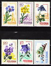 Romania 1967 Sc1925-30 Mi2594-99 6v  mnh  Carpathian Flora
