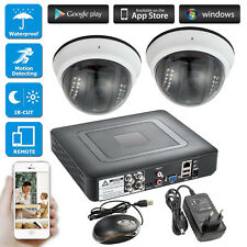 4CH CCTV 1080N DVR,Surveillance Security Waterproof 720P AHD Camera,Night Vision