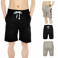 Mens Casual Comfy Shorts Baggy Gym Sport Jogger Sweat Shorts Pants With Pocket