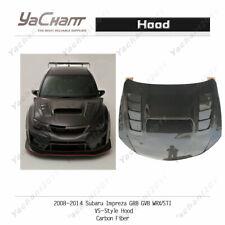 Carbon Fiber Bonnet For 08-14 Subaru Impreza GRB GVB WRX / STI VS-Style Hood