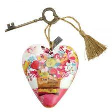 DEMDACO Art Hearts Dear Mum Heart and Key Gift 1003480060
