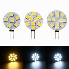 G4 5050 SMD 6/9/12 LED Car Boat Light Round Bulb Side-pins Lamp DC 12V