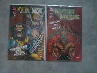Wolverine Nr. 1 + 2, Die Herrschaft des Feuers , neu ,selten, top !!!