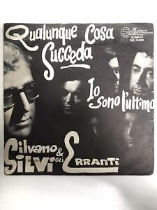 Silvano Silvi & gli Erranti beat 45 giri 1967 raro vedi descrizione