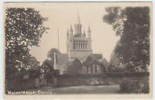 Isle of Wight; Whippingham Church RP PPC Unused, c 1910