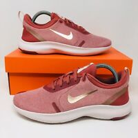 Nike Flex Experience RN Women's Running Shoes Red Bronze Sneakers